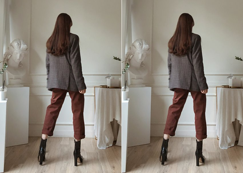 Brownie Wide-Fit Pants