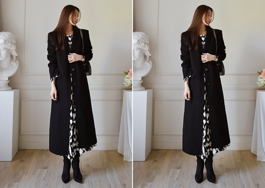 Low Maxi Coat [Handmade]