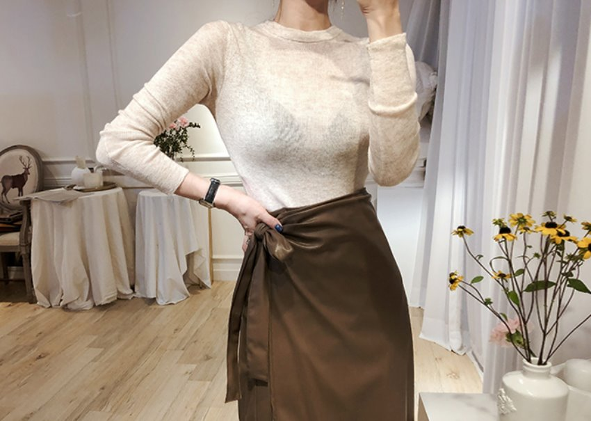 Anne Daily Knit *[beige]
