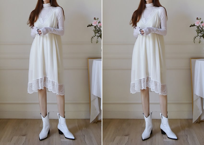 Tiema lace dress