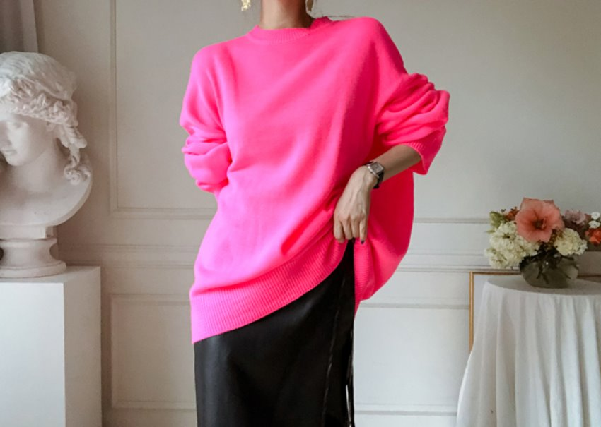 Milly neon knit