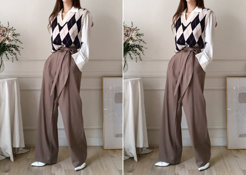 Robe Wrap Pants