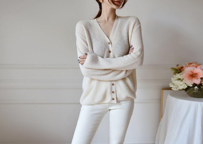 Cream Alpha Cardigan