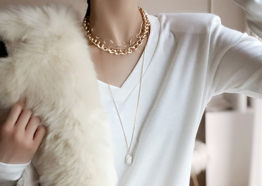 Mala Layered Necklace