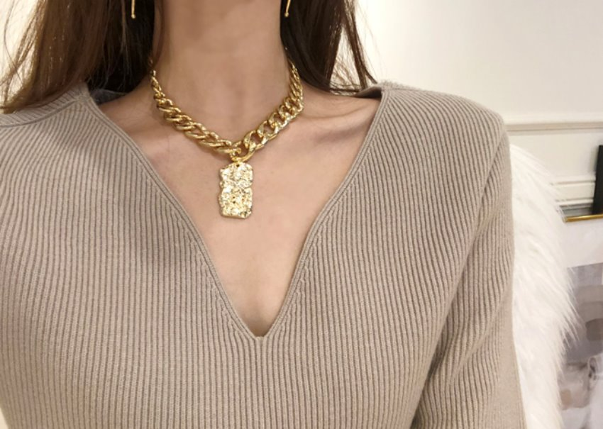 Grada chain necklace