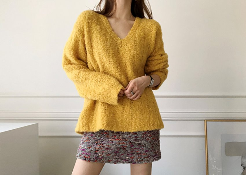 Eve Bookle Knit