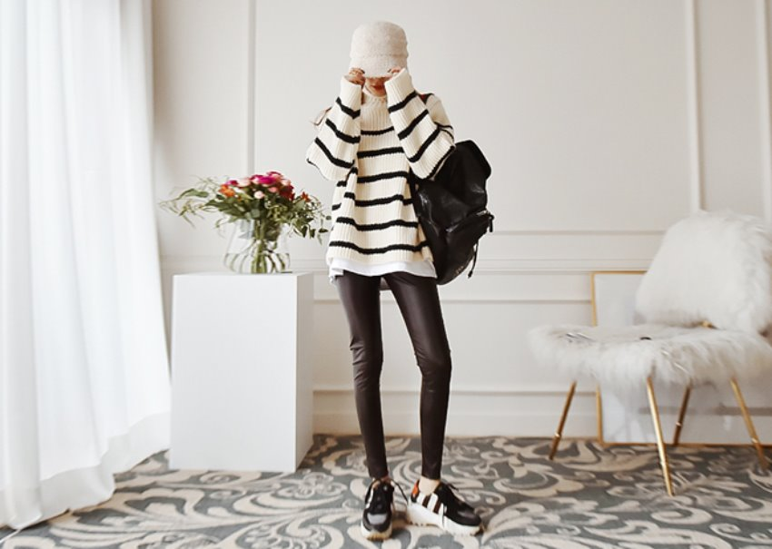 Maison stripe knit