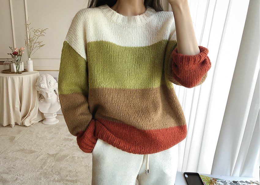 Sonia Autumn Knit