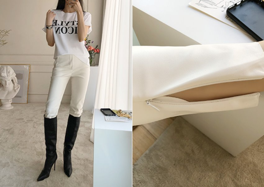 Dorothy Leather Pants