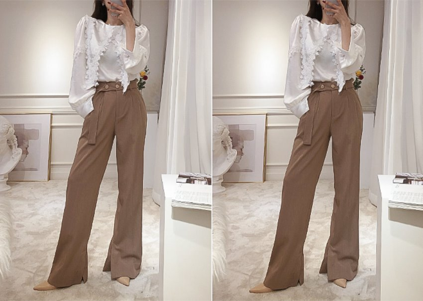Lotus wide pants