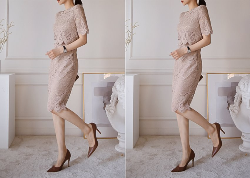 Miu lace dress