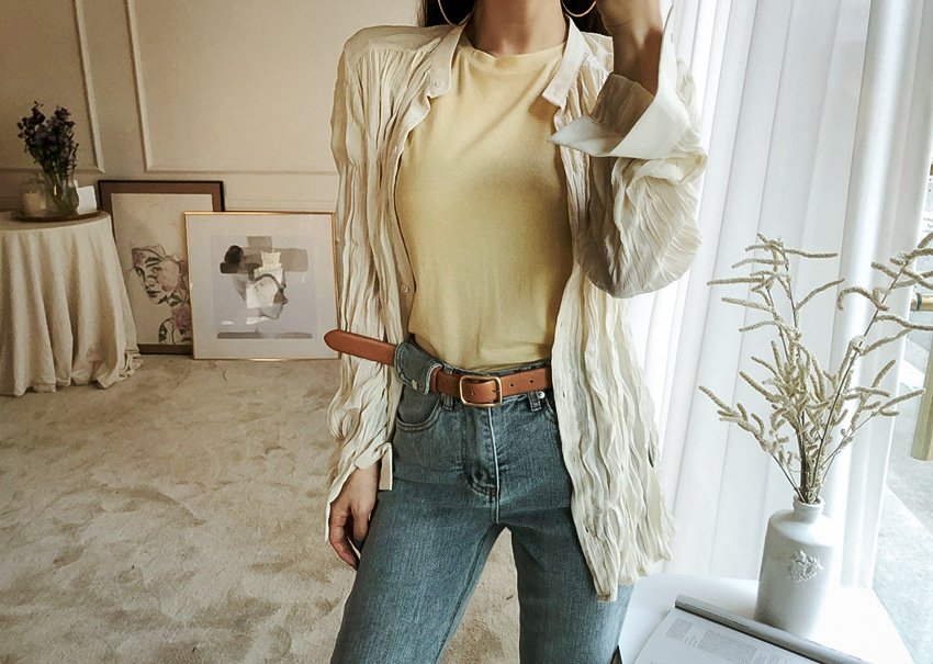 Rev Wrinkle Blouse