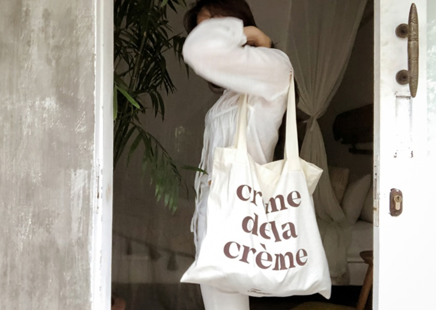 Creamy Eco Bag