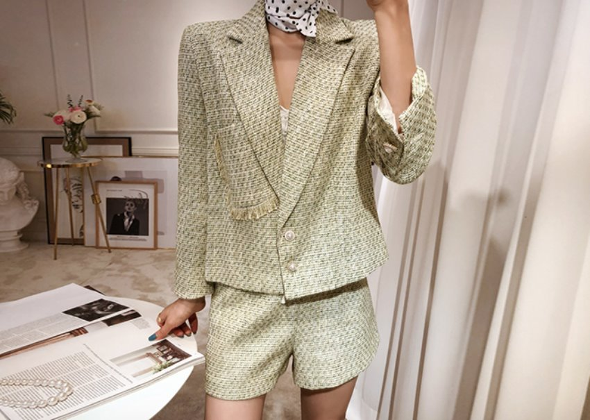 Mori tweed jacket