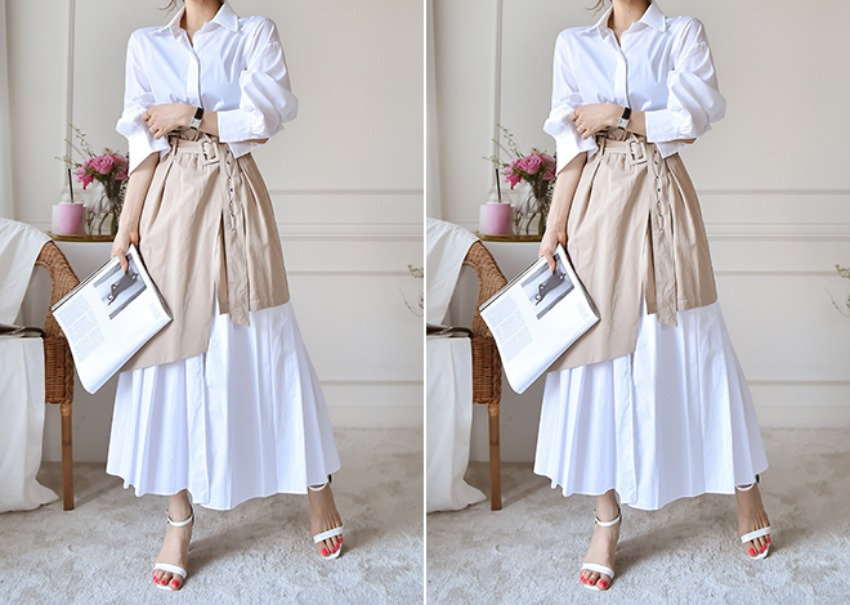 Kelly Trench Skirt