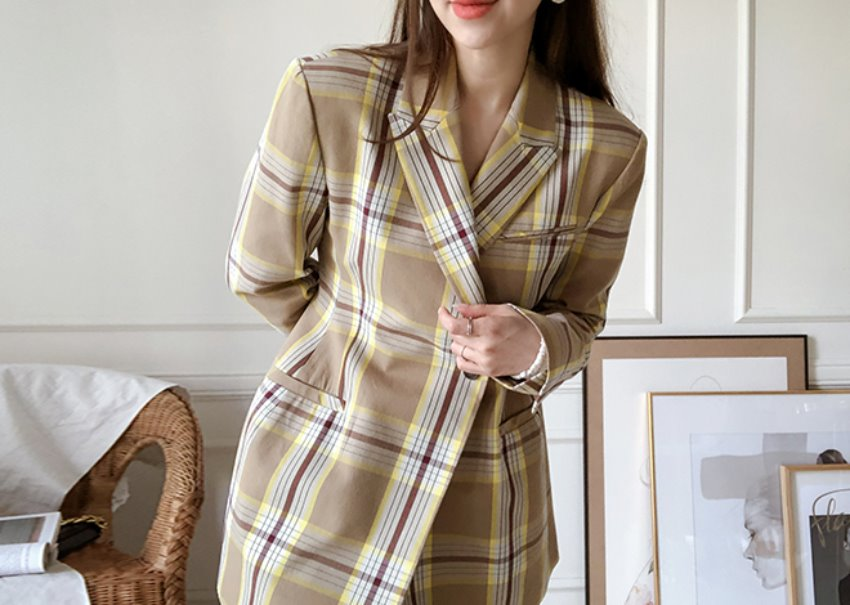 Lepi check jacket