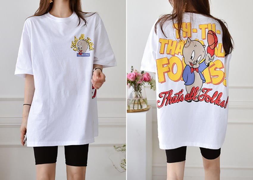Kitsch long T-shirt