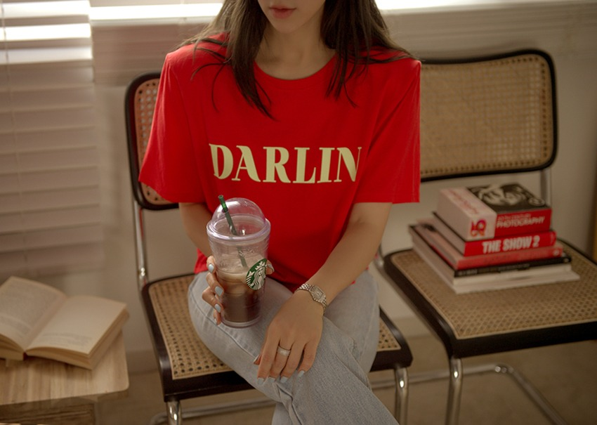 Darling t-shirt *[red]