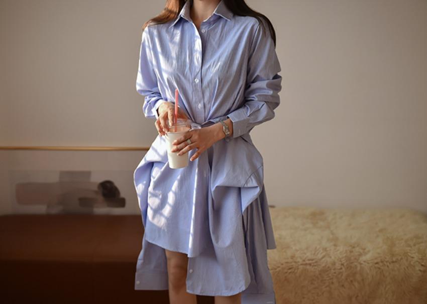 Margot shirt dress