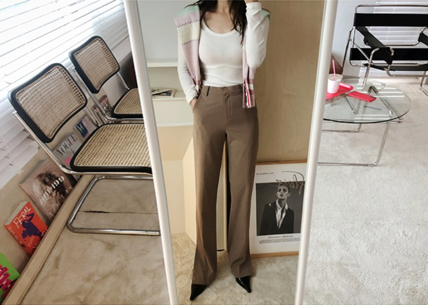 Maronie pants *[brown]