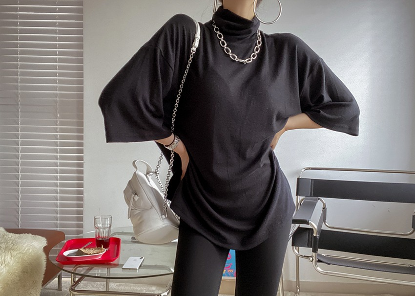 Malica turtleneck T-shirt