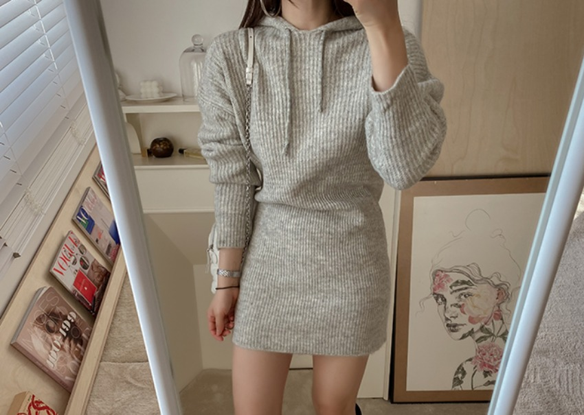 Jass knit dress