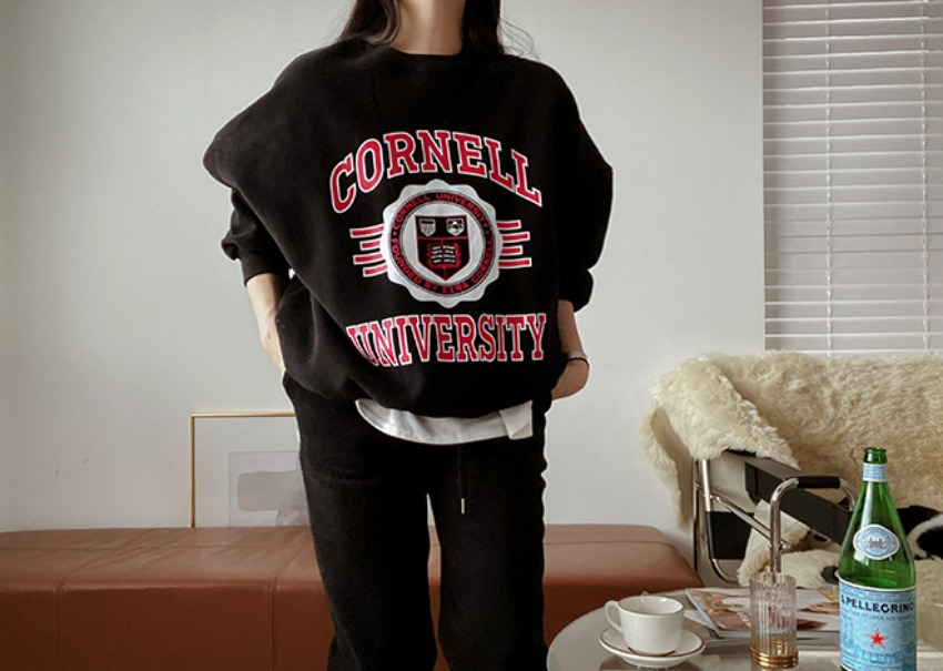 Cornell sweats set *[black]