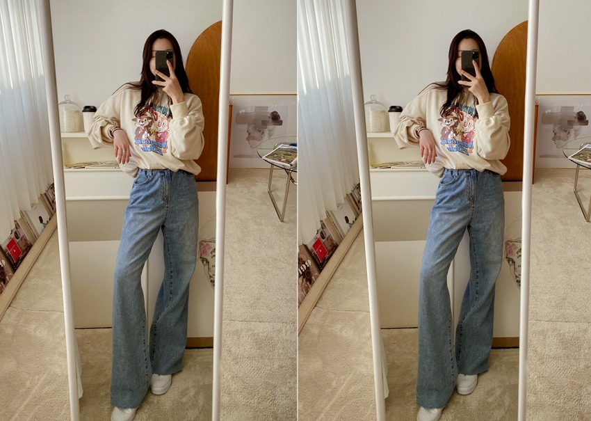 Boy Wide Denim Pants