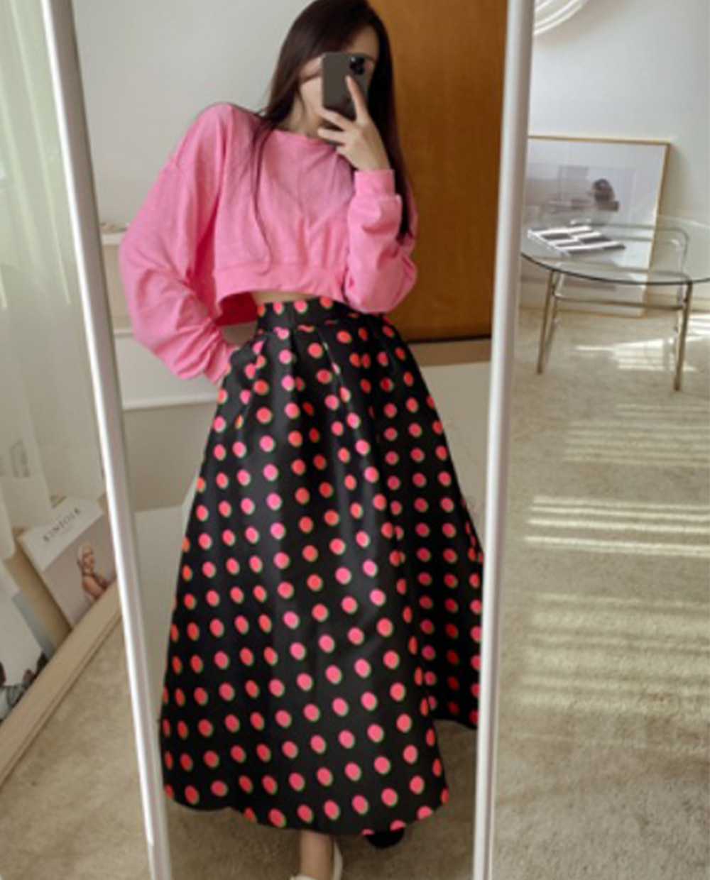 Double dot skirt