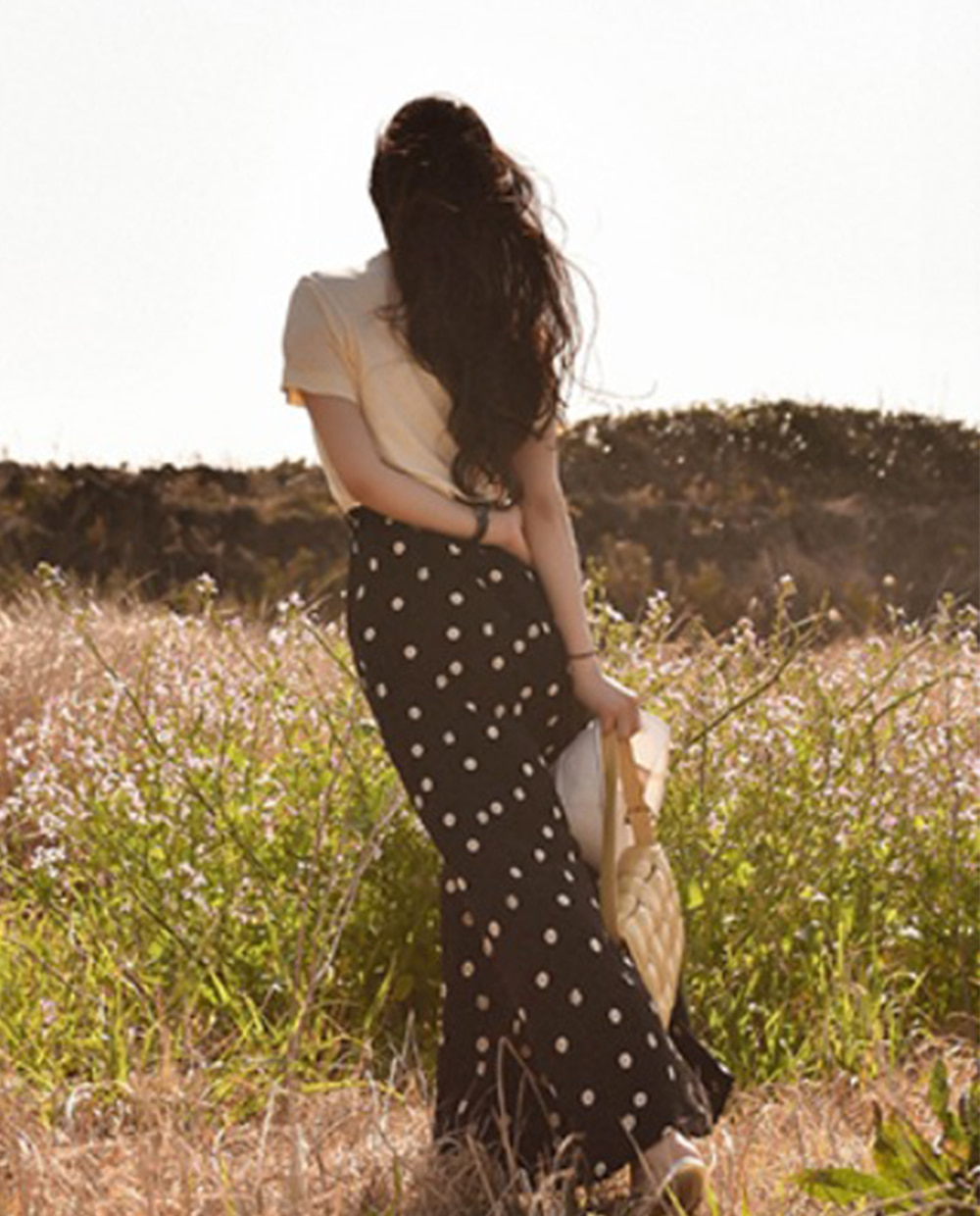 Daisy long skirt