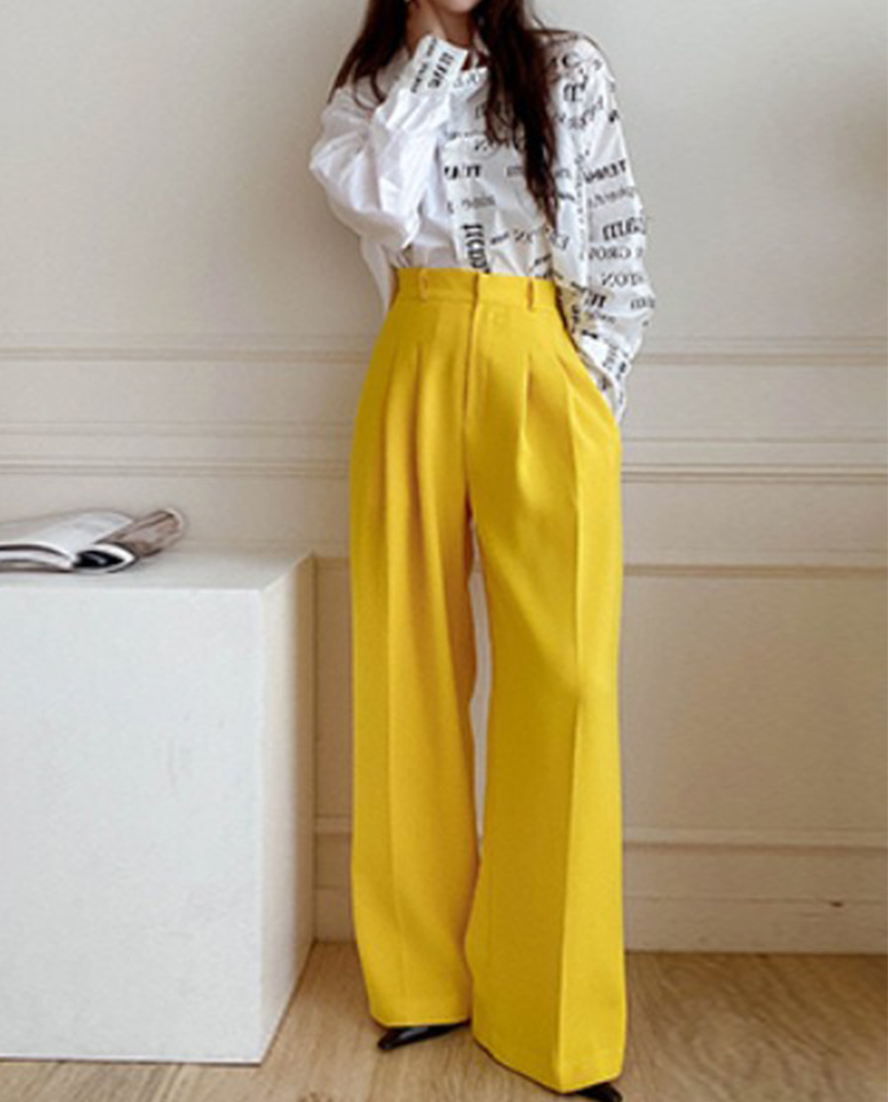 Vivid tailored pants